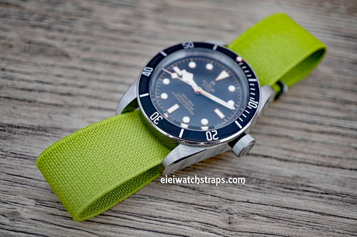 Classic Green Elastic Parachute Military Watch Band