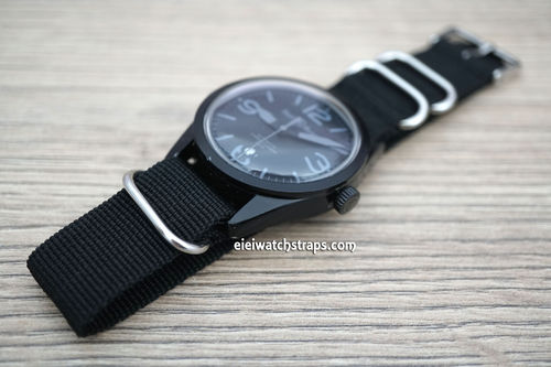 Bell & Ross G10 Ballistic Heavy Duty Black Nylon NATO Strap
