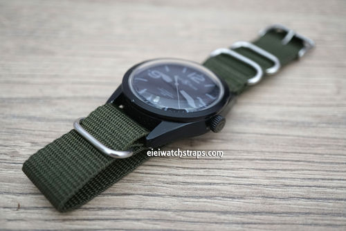 Bell & Ross G10 Ballistic Heavy Duty Green Nylon NATO Strap