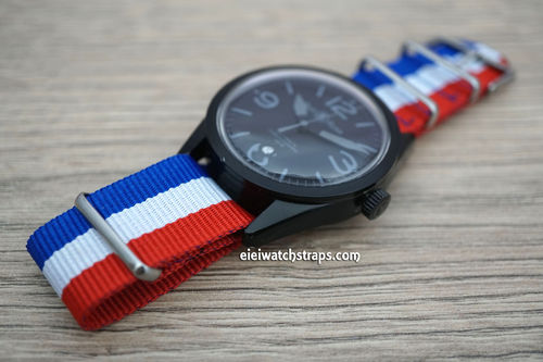 Bell & Ross G10 Ballistic Heavy Duty French Nylon NATO Strap