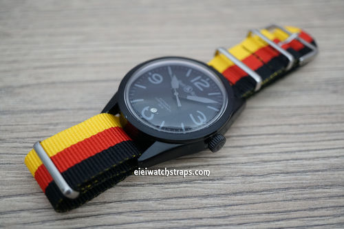 Bell & Ross G10 Ballistic Heavy Duty German Nylon NATO Strap