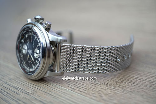 Ball Railmaster Stainless Steel Mesh Bracelet Tang Buckle