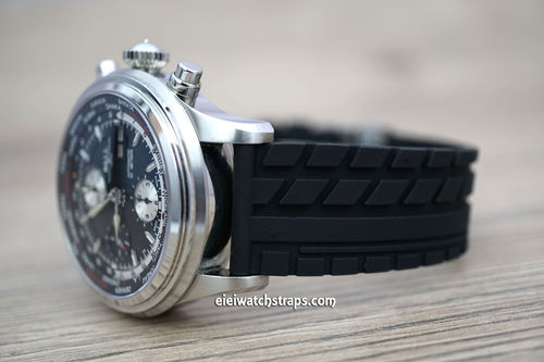Ball Railmaster Tyre Tread Rubber Watch strap