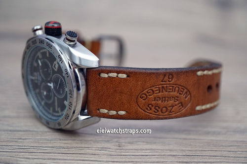 Tissot Zoss Hand Made Vintage Style Ammo Leather Watch Strap